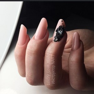 Nail design with 3D design